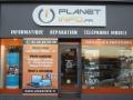 Nouvelle enseigne Planet Info