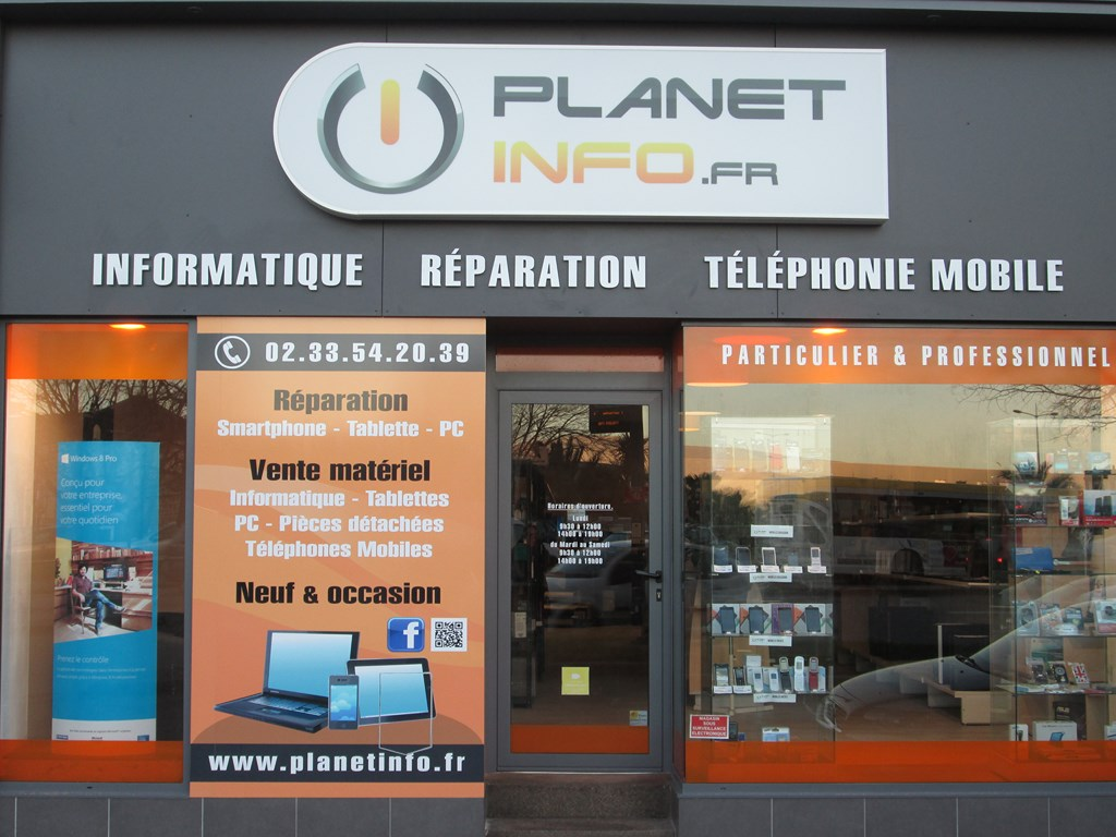pr sentation de l entreprise planet info cherbourg bayeux. Black Bedroom Furniture Sets. Home Design Ideas