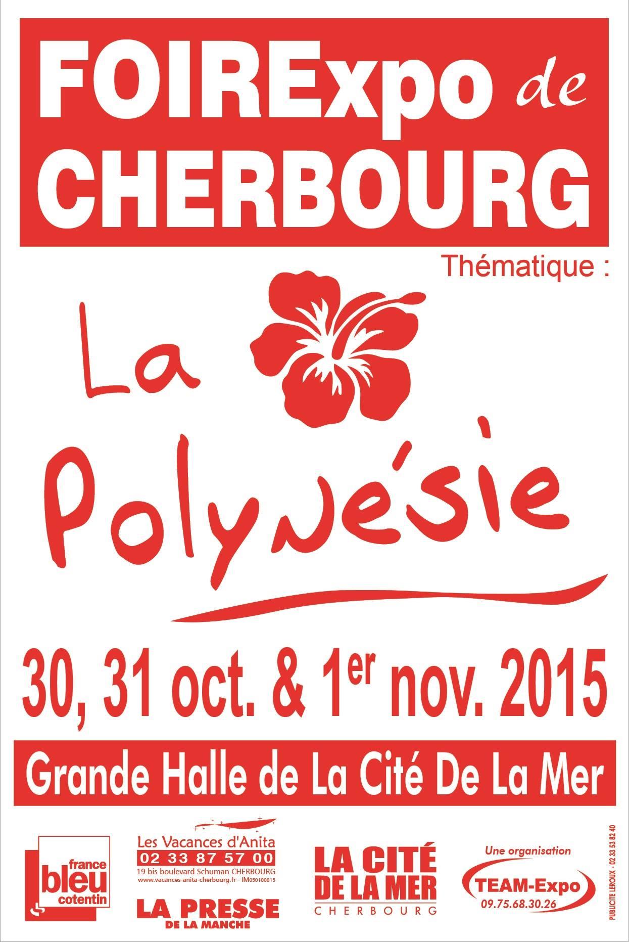 Affiche Foire expo de Cherbourg 2015