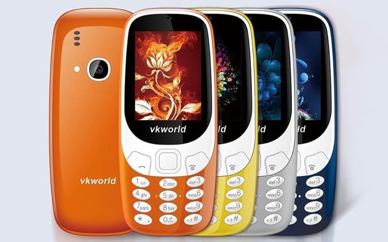 "VKWorld Z3310 : téléphone mobile ""feature phone"""